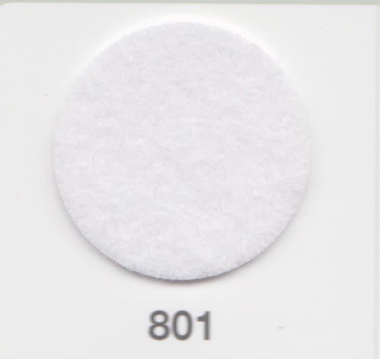 """Фетр жесткий 1,2мм, 801 (белый) купить недорого в интернет-магазине """"ФЕТРоли"""" по цене от   30 руб."""